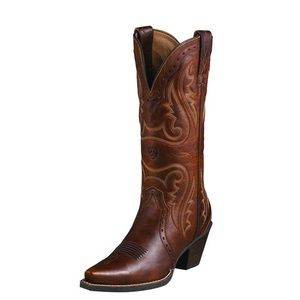 Ariat Heritage X Toe Western boots